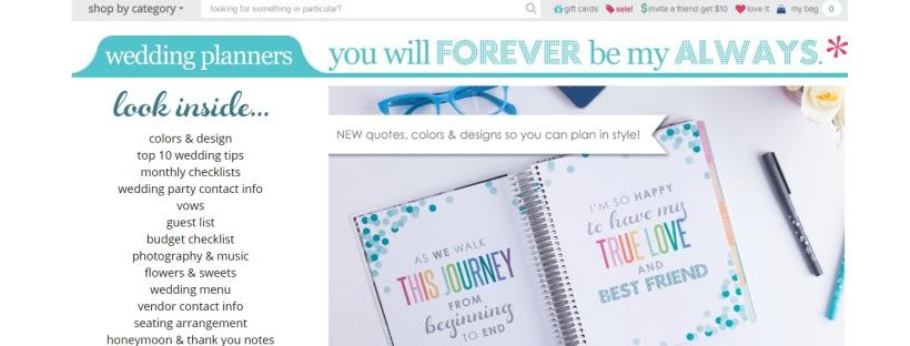 Erin Condren Wedding Planner.Friday Find Erin Condren Wedding Planner Bridal And Wedding Expo Blog